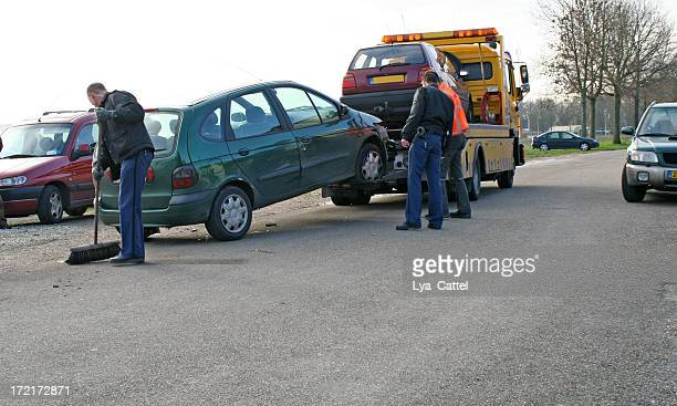 car accident # 1 - towing stock photos and pictures