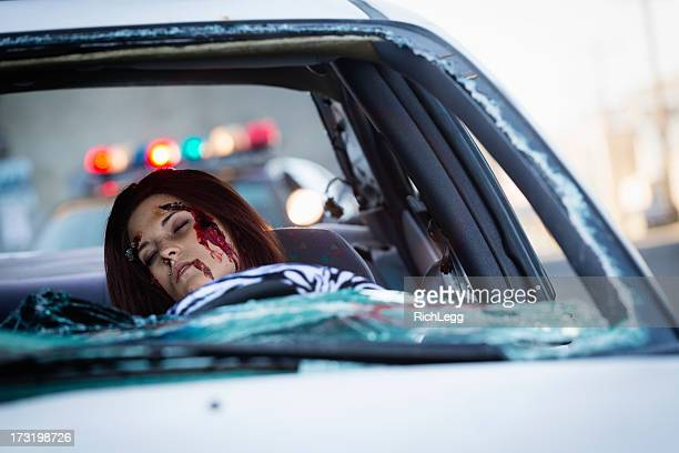car accident - death photos stock photos and pictures