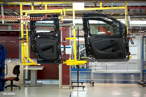 Car assembly line Automotive industry