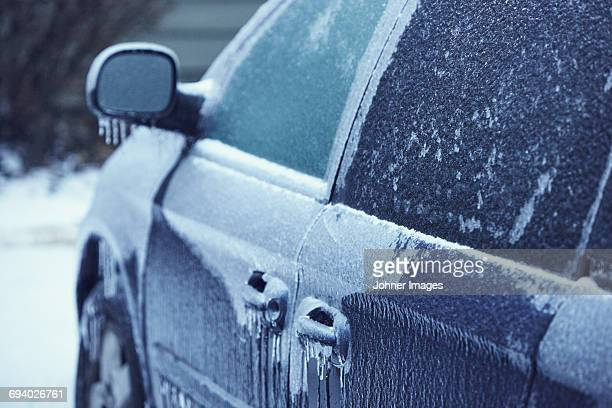 Car at winter
