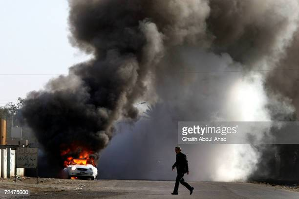 Car bomb went off next to a school in south of Baghdad one hour after a suicide bomber targeted a police station in the same area. January 28...