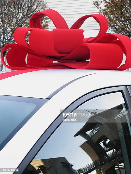 Car Bow Present Christmas