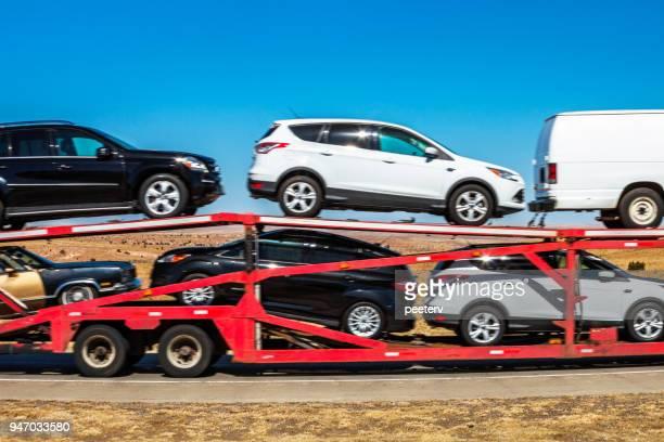 Car carrier trailer - Texas/Oklahoma