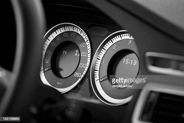car cockpit instruments