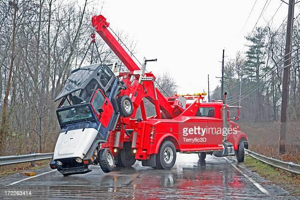 Car Crash recuperación a Rainy Day