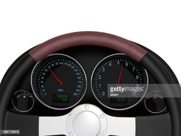 Panel de automóviles