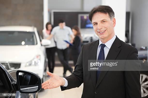 Car dealership salesperson.