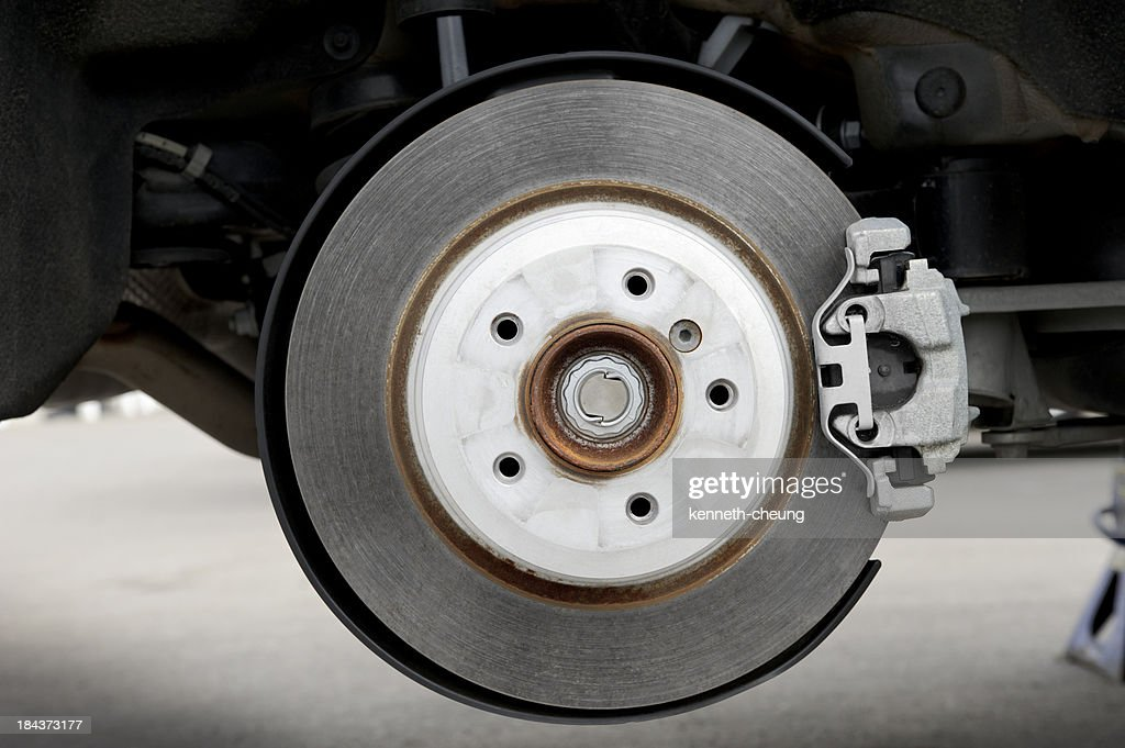 Car Disc Brake : Stock Photo