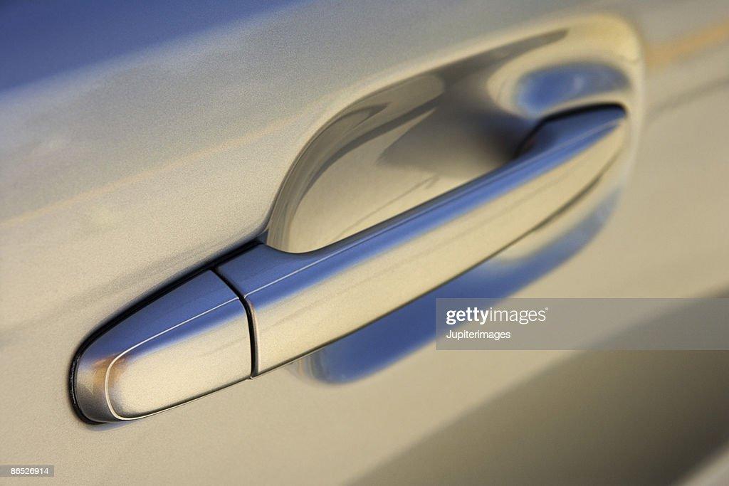 Car door handle : Stock Photo