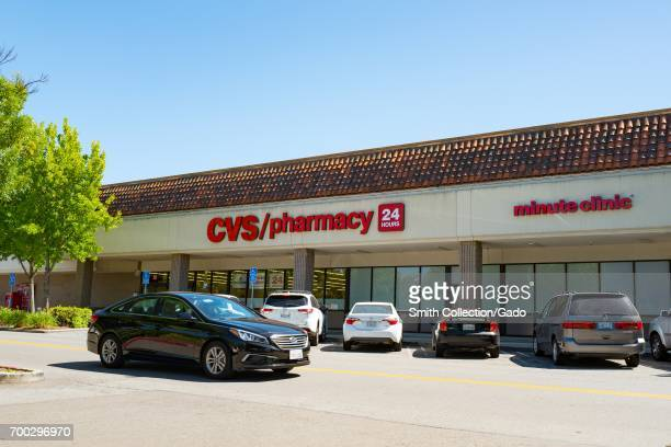 A car drives past a CVS Pharmacy on a sunny day in San Ramon California May 31 2017