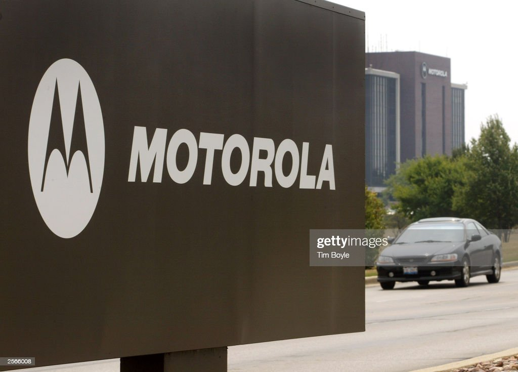 Motorola To Make Semiconductor Unit Separate Company : News Photo