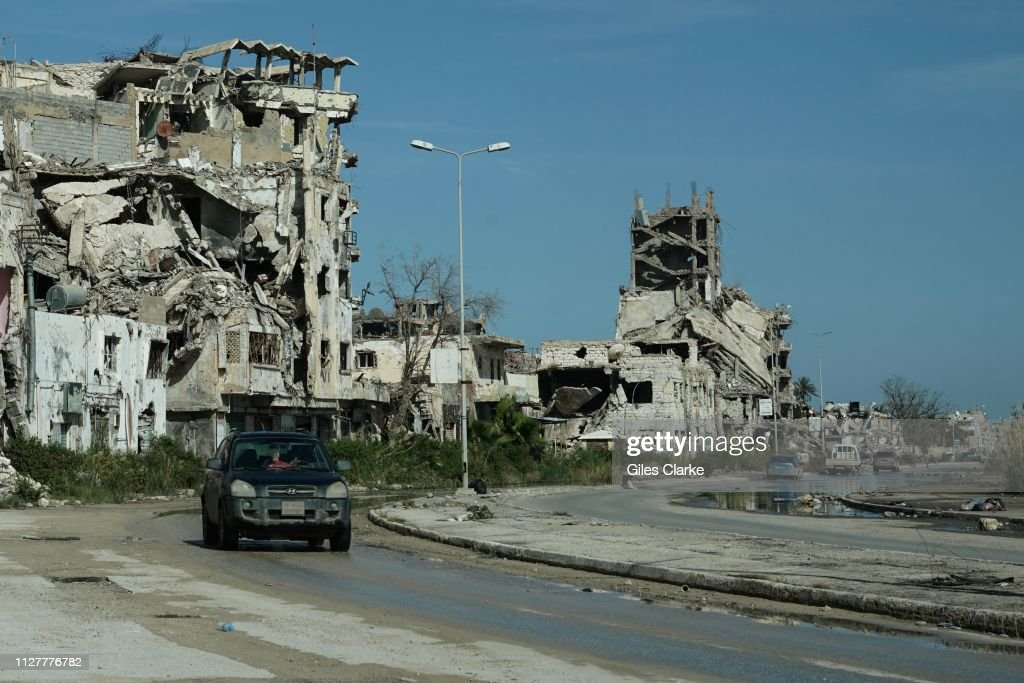 Deprivation And Destruction Remain Widespread In Libya : Nieuwsfoto's
