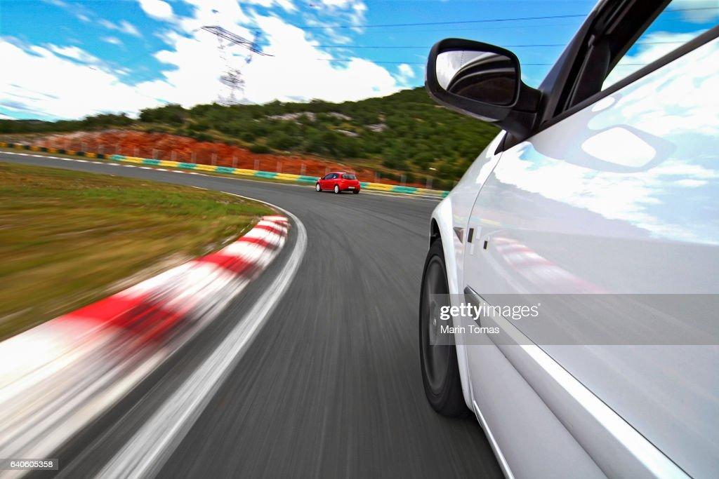 Car driving : Stock Photo