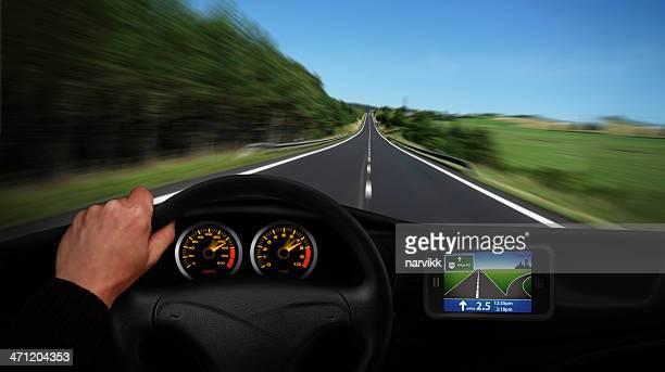 Conducción con navegación de automóviles