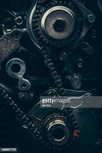 v8 car engine close-up - piston stock pictures, royalty-free photos & images