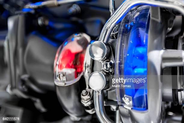 Car engine cutaway