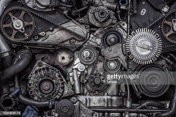 car engine - gears stock pictures, royalty-free photos & images