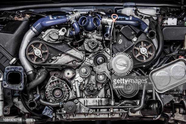 car engine - diesel stock pictures, royalty-free photos & images