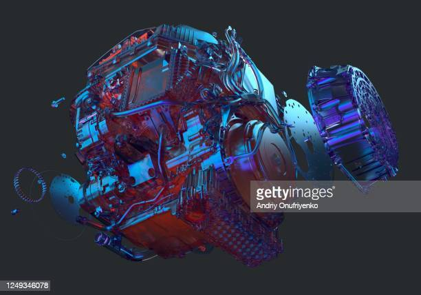 car engine - engine stock pictures, royalty-free photos & images