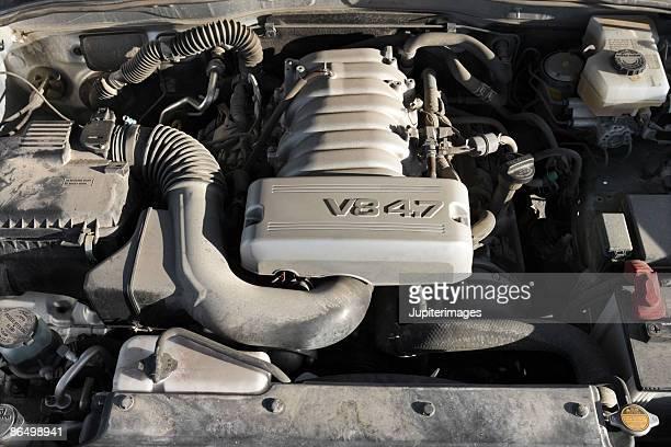 car engine - v型8気筒 ストックフォトと画像