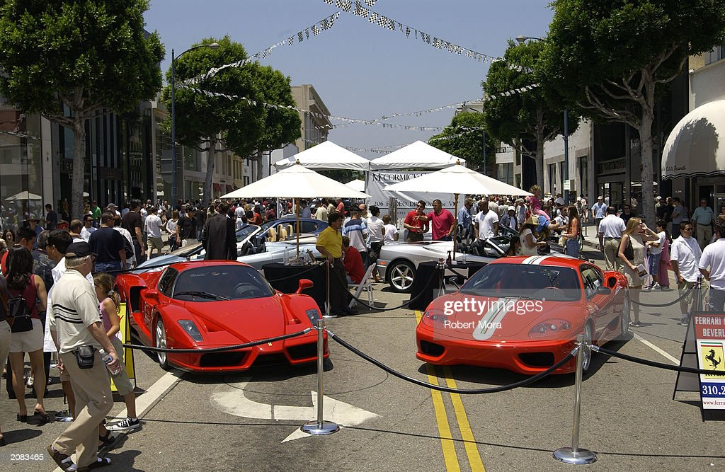 Celebs Attend Concours On Rodeo Photos And Images Getty Images - Beverly hills car show