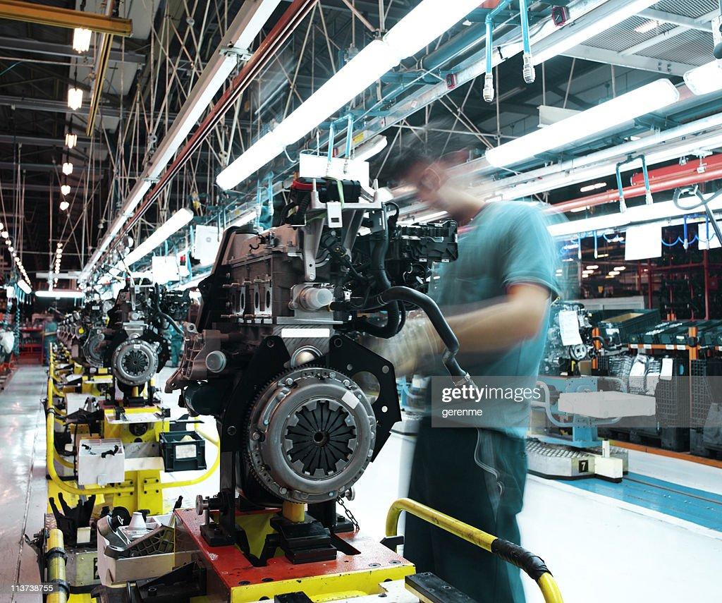 Auto-Werk : Stock-Foto