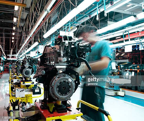 car factory - automotive stock photos and pictures
