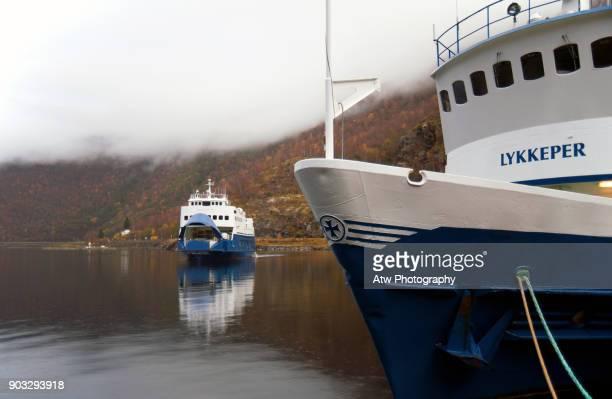 Car Ferry From Gundvangen To Flåm