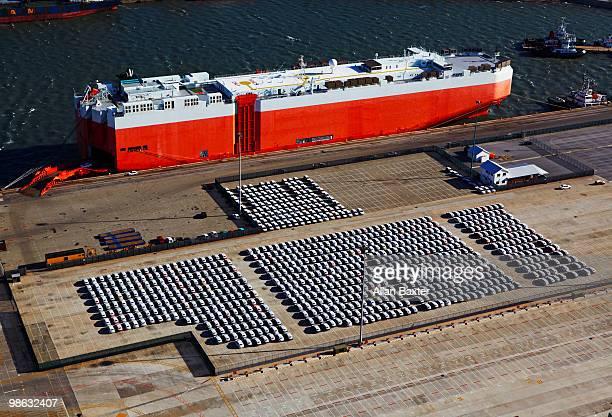 car ferry - port elizabeth südafrika stock-fotos und bilder