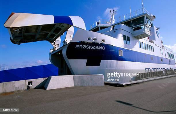 Car ferry to Aero Island.