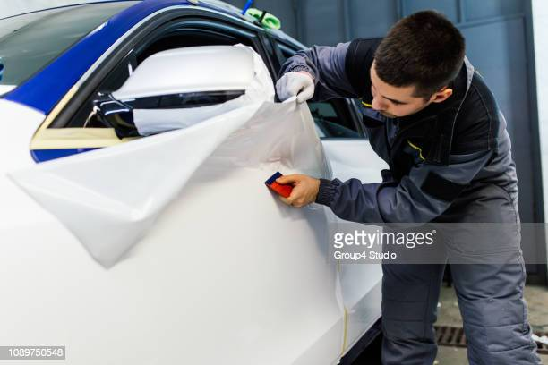 car foil - wrapping stock pictures, royalty-free photos & images