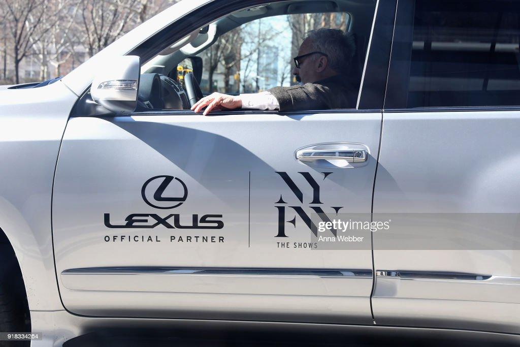 A car from the Lexus Fleet is seen at