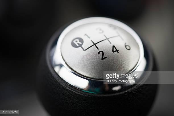 Car gear shift knob.
