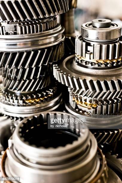 Car gearbox series