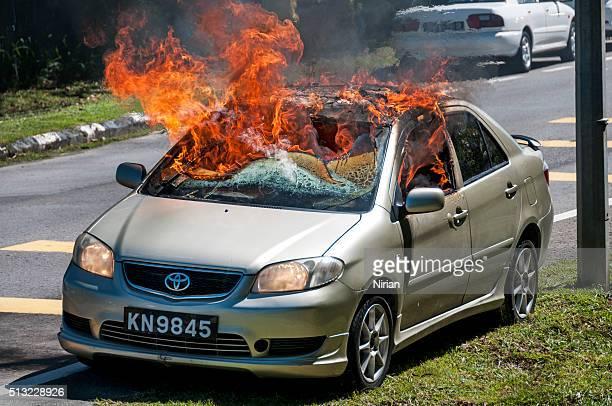 Car in Flames