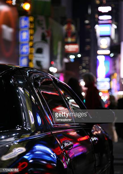 Car In Times Square
