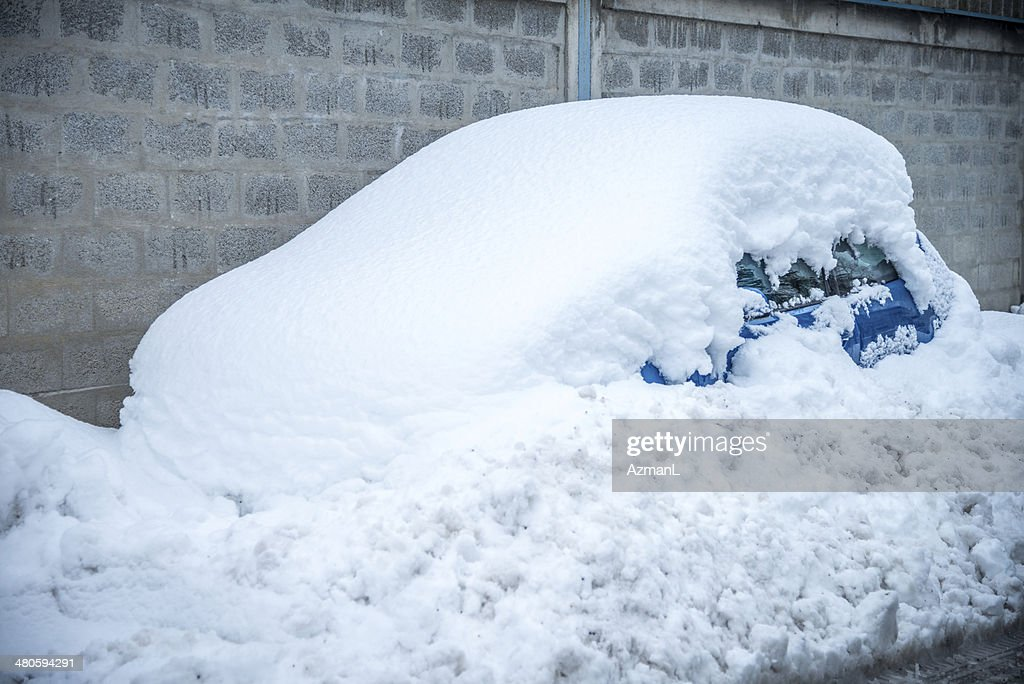 Car in winter : Stock Photo