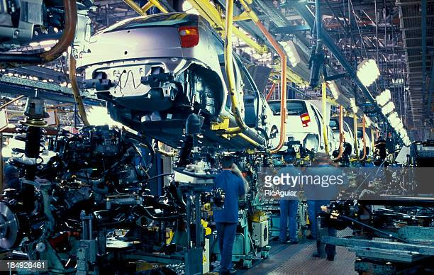 car industry, automobile - production line stock pictures, royalty-free photos & images