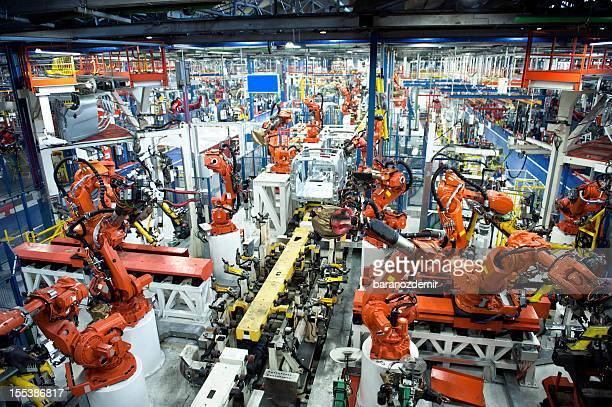 car industry - automation stock pictures, royalty-free photos & images