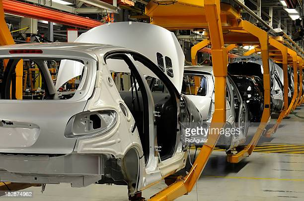 car industry - production line stock pictures, royalty-free photos & images