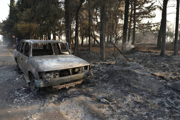 GRC: Wildfires Cause Extensive Damage In Athens Suburb
