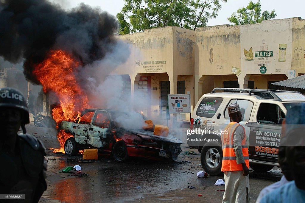 Five killed in Nigeria's suicide bombing : News Photo