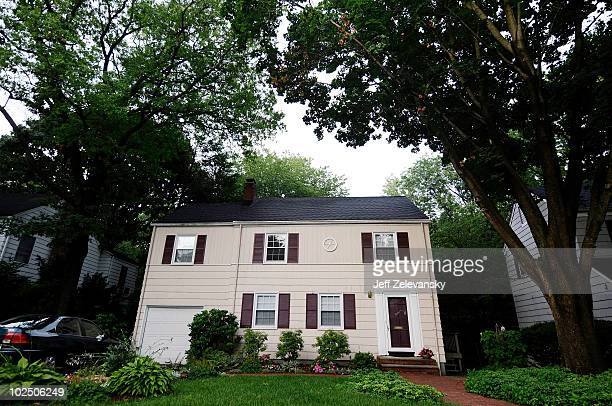 Car is parked in front of 31 Marquette Road on June 28, 2010 in Montclair, New Jersey. The residents of the home, known as Richard and Cynthia...