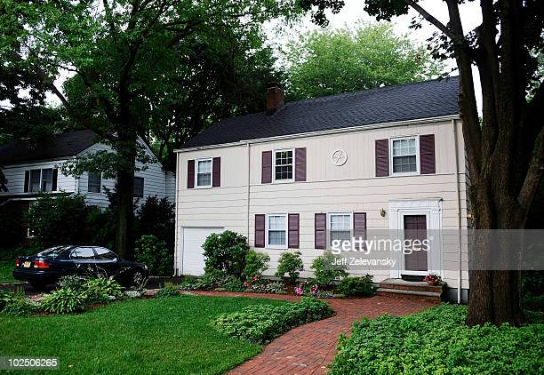 Car is parked in front of the home at 31 Marquette Road on June 28, 2010 in Montclair, New Jersey. The residents of the home, known as Richard and...