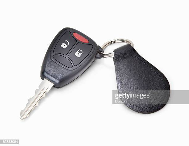 Car Keys attached to auto Fob