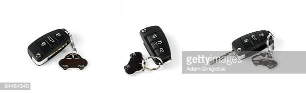 car keys - key ring stock photos and pictures