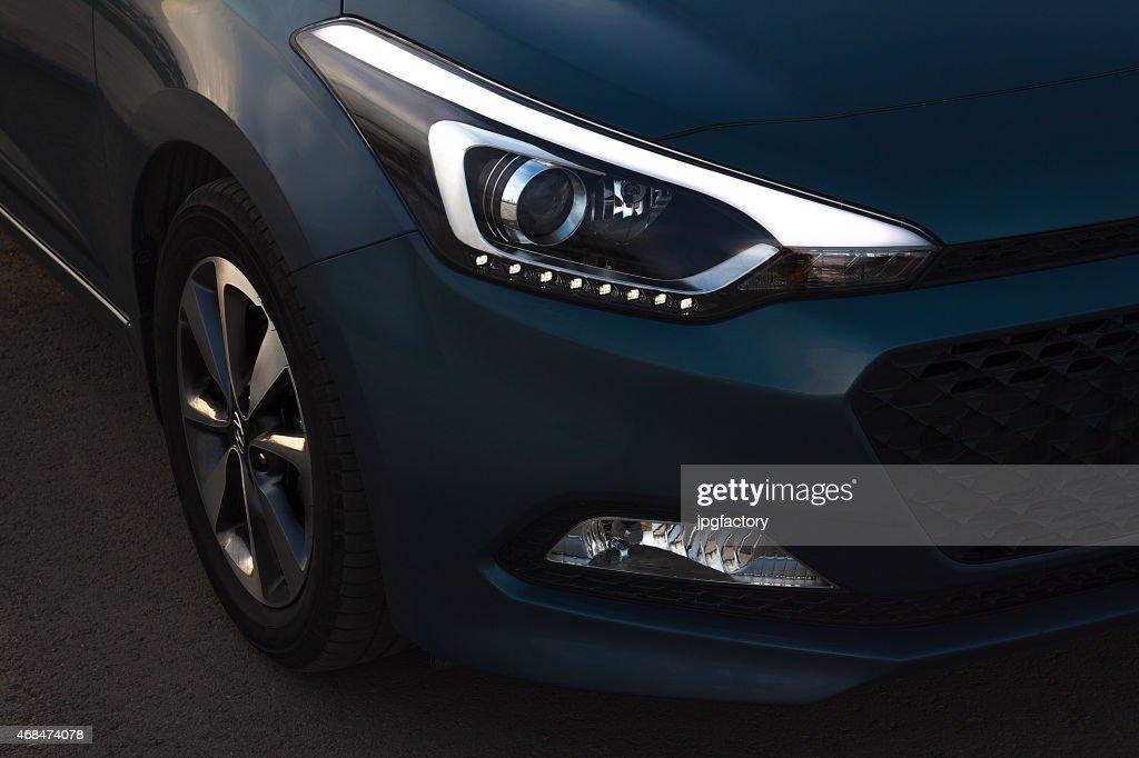 car led headlight : Stock Photo