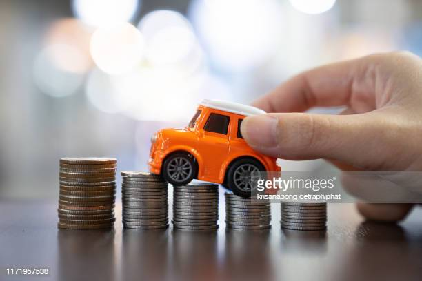 car loan,money,car insurance concept - konsum stock-fotos und bilder