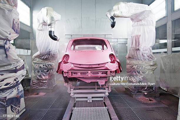 Car manufacturing plant, China