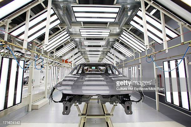 Car manufacturing plant, Shanghai, China